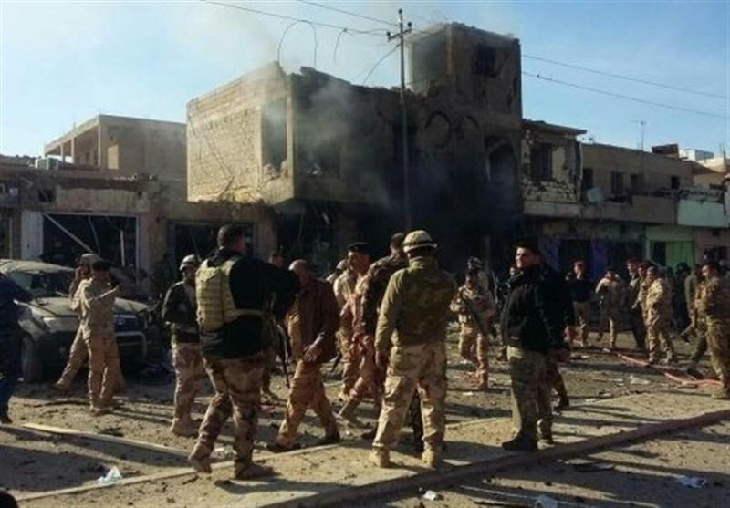 انفجار تروریستی در مرز عراق و سوریه