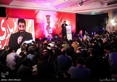 مداحی سیدمجید بنیفاطمه در سیودومین یادواره شهدای عملیات کربلای 5 - مسجد پنبهچی
