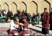 کاشان|نمایش نامه قتل امیرکبیر در باغ فین کاشان برگزار شد+تصاویر