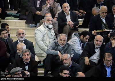 حضور سردار نقدی در نماز جمعه تهران