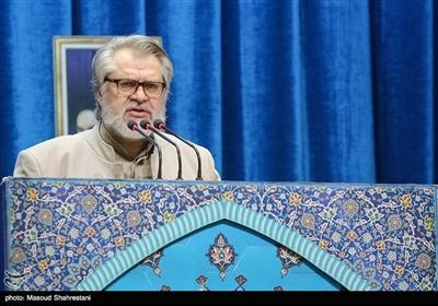 نادر طالب زاده سخنران پیش از خطبه های نماز جمعه