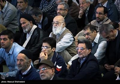 حضور مهدی چمران در نماز جمعه تهران