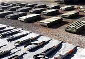 کشف سلاحهای انگلیسی از مناطق آزاد شده از اشغال تروریسم در سوریه