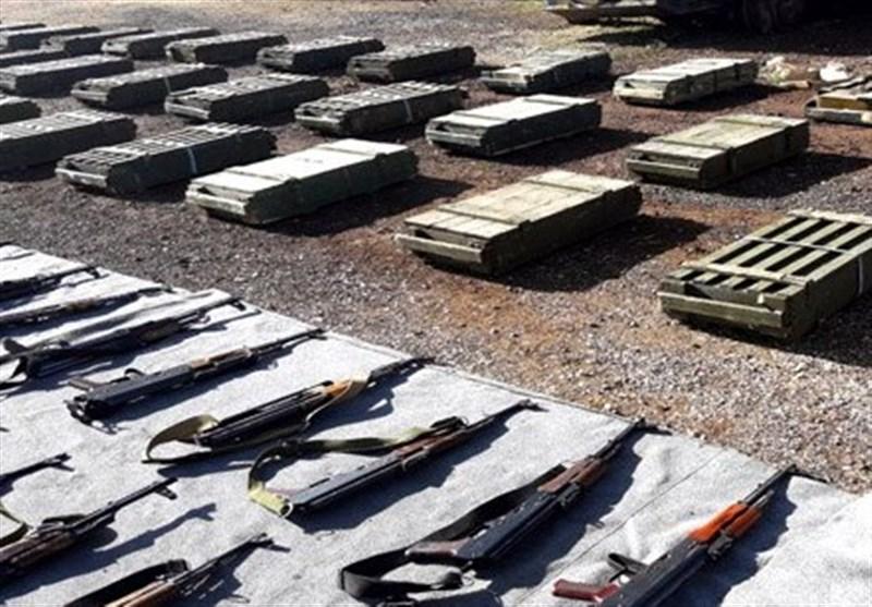 کشف سلاح های انگلیسی از مناطق آزاد شده از اشغال تروریسم در سوریه