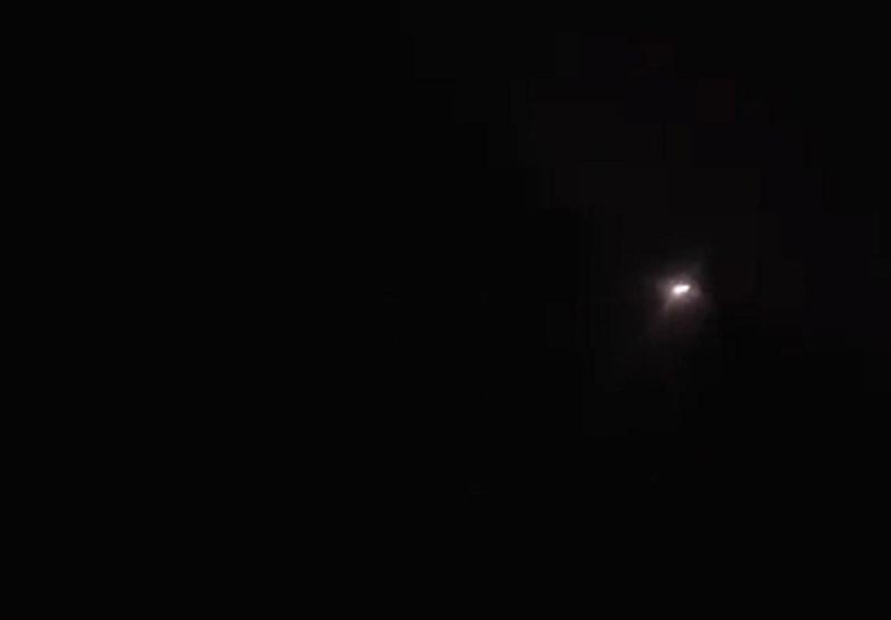 Syria's Air Defense Shoots Down Israeli Missiles near Damascus (+Video)