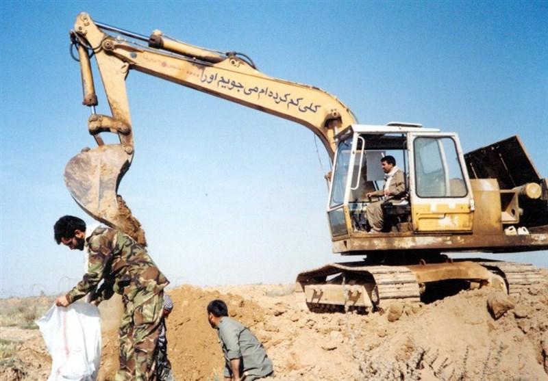 چند سکانس از تفحص شهدا در کردستان عراق+فیلم