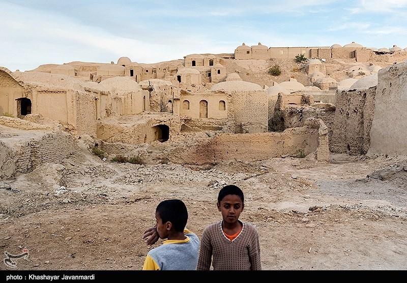 یکی از روستاهای اطراف سیستان و بلوچستان