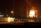 Houthi Leader Blames Aggressors for Refinery Blaze in Yemen's Aden