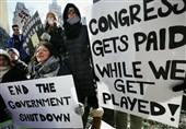 US Federal Workers Protest Government Shutdown in Boston