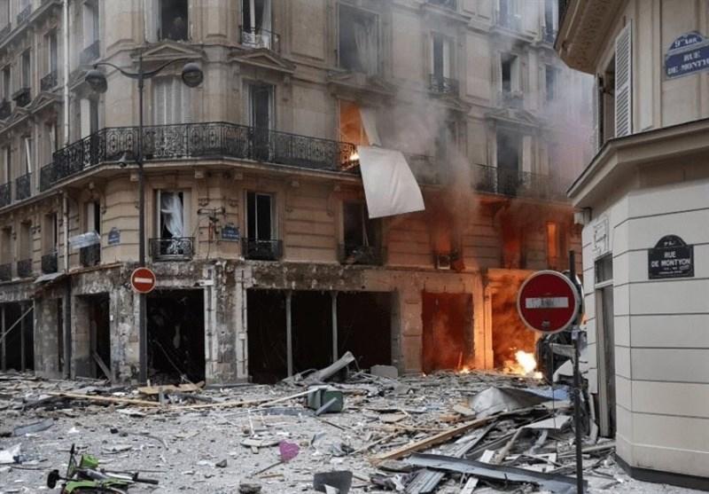 انفجاری بزرگ در پاریس 4 کشته و بیش از 30 زخمی برجای گذاشت + تصاویر