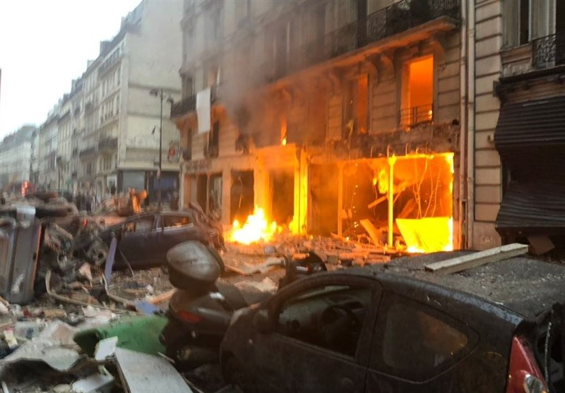 مقتل 4 أشخاص وإصابة العشرات بانفجار غاز داخل مخبز وسط باریس