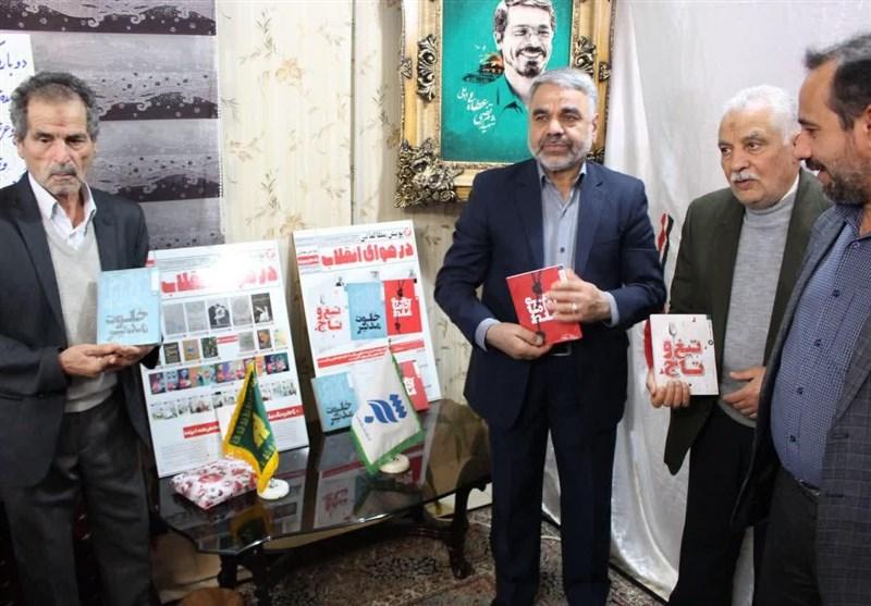 مشهد پویش مطالعاتی بهنشر کلید خورد؛ پدران شهدای مدافع حرم آغازگر پویش «در هوای انقلاب»