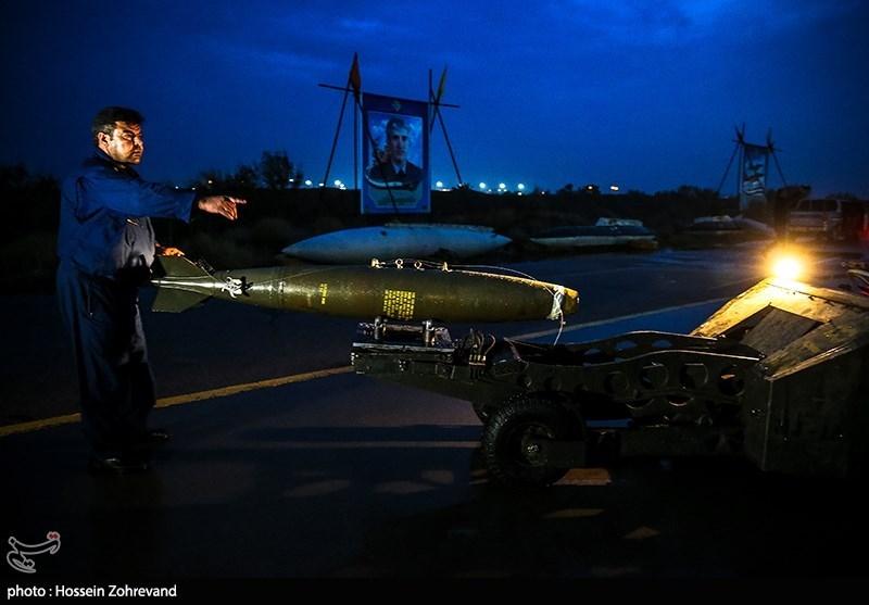 پرواز شبانه جنگنده های ارتش