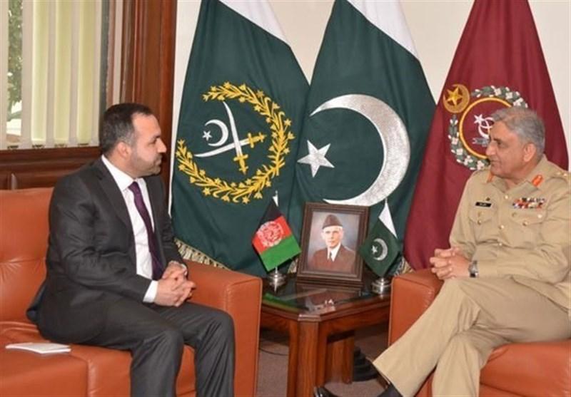 نئے افغان سفیر کی پاک فوج کے سربراہ سے ملاقات، اہم امور پرتبادلہ خیال