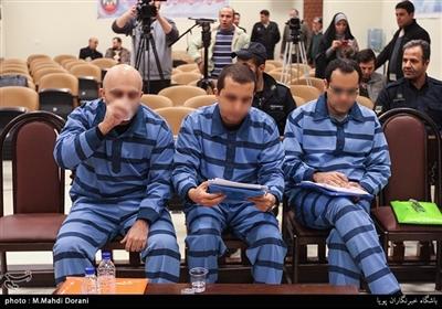 جلسه سوم رسیدگی به اتهامات متهمان پرونده دومان توکان