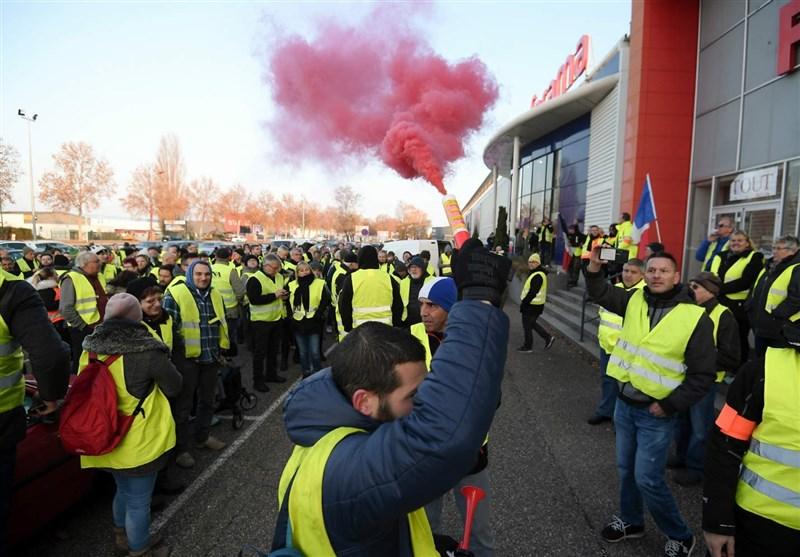 جلیقهزردهای فرانسه برای نُهمین هفته به خیابانها آمدند
