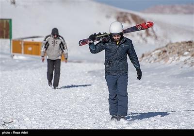 منتجع تزلج سهند فی تبریز