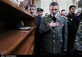 تشکر فرمانده کل ارتش از فرمانده معظم کل قوا و مردم