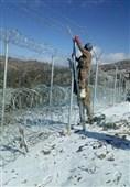 پاک افغان سرحد پرسخت سردی میں بھی باڑلگانے کا کام جاری