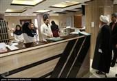 حضور سرزده آیتالله ناصرییزدی در بیمارستان شهید رهنمون یزد به روایت تصویر