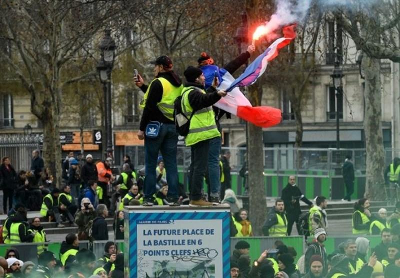 جلیقه زردهای فرانسوی در انتخابات اروپا شرکت میکنند