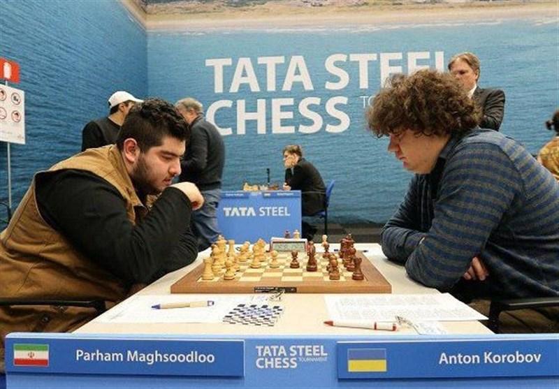 عنوان سومی پرهام مقصودلو در مسابقات شطرنج استادان ابوظبی