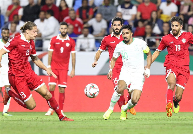 جام ملتهای آسیا| عربستان با پیروزی برابر لبنان صعود کرد