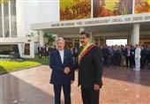 مادورو یستقبل وزیرالدفاع الإیرانی ویصف اللقاء بالمثمر