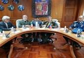 وزیر الدفاع الایرانی یلتقى نظیره الفنزویلی فی کراکاس