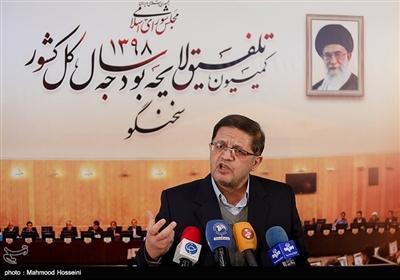 نشست خبری محمدمهدی مفتح، سخنگوی کمیسیون تلفیق لایحه بودجه