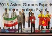 حضور مدالآور ورزشهای الکترونیک ایران در بازیهای آسیایی 2018 در مسابقات جهانی چین