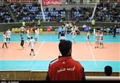 دیدار تیمهای والیبال دورنای ارومیه و شهرداری ورامین به روایت تصویر