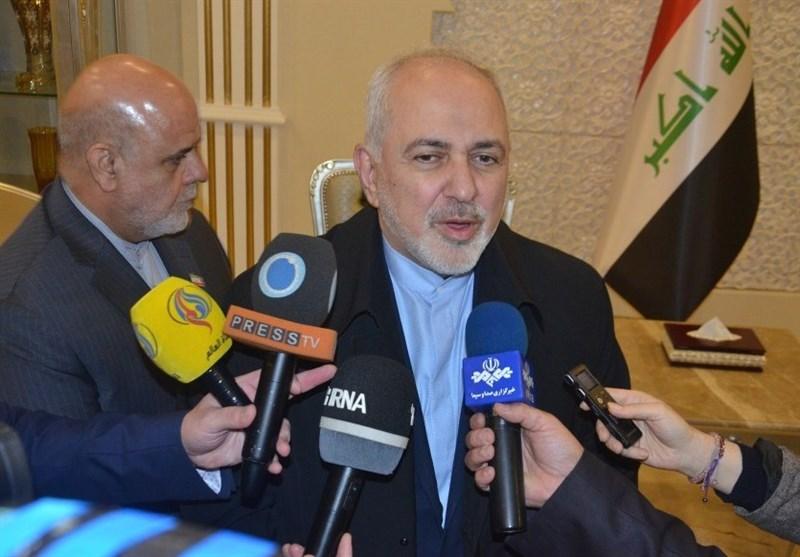 ظریف: رابطه ما با بغداد مانند برخی کشورها تصنعی نیست که بخواهیم پنهانی وارد عراق شویم