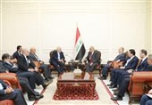 ایرانی وزیرخارجہ کی عراقی صدر سے ملاقات، باہمی امورپر تبادلہ خیال