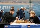 رقابتهای شطرنج تاتا استیل 2019| ثبت اولین پیروزی مقصودلو با شکست حریف آلمانی