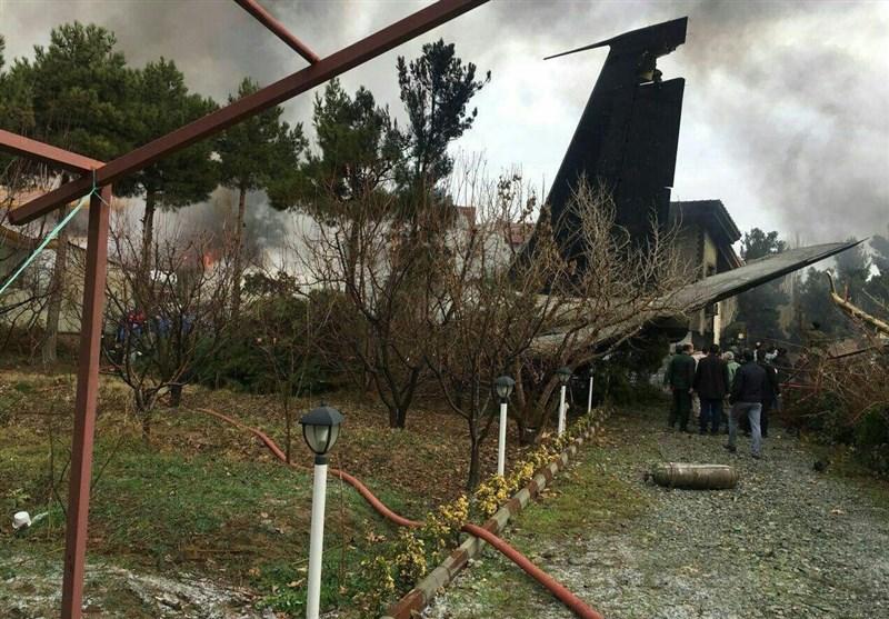 Cargo Aircraft Crashes near Tehran (+Video)