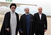 رئیس جمهور در فرودگاه کلاله: طرحهایی را برای توسعه استان گلستان آماده داریم