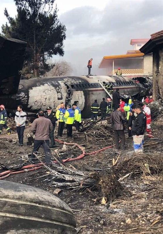 گزارش از سقوط بوئینگ707 در حوالی فرودگاه فتح/ جعبه سیاه هواپیما پیدا شد