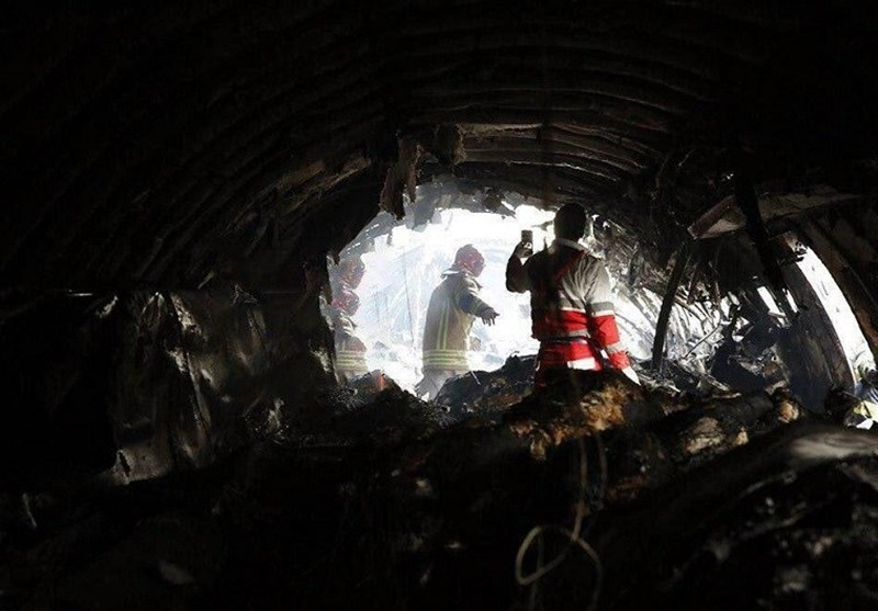 آتشسوزی هواپیمای سقوط کرده خاموش شد/ رهاسازی 2 جسد