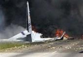 ایران میں غیر ملکی کارگو طیارہ گر کر تباہ+ تصاویر