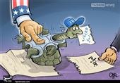 کاریکاتور/ عدم صداقت اروپا !!!
