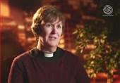 کشیش زن مسیحی: زینب(س) نماد ایستادگی در برابر ظلم و بیداد شد + فیلم