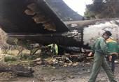 تصاویر اختصاصی تسنیم از حادثه سقوط هواپیمای 707 و 30 تن گوشت وارداتی