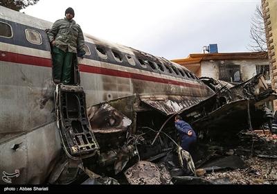 سقوط هواپیمای بوئینگ 707 در کرج