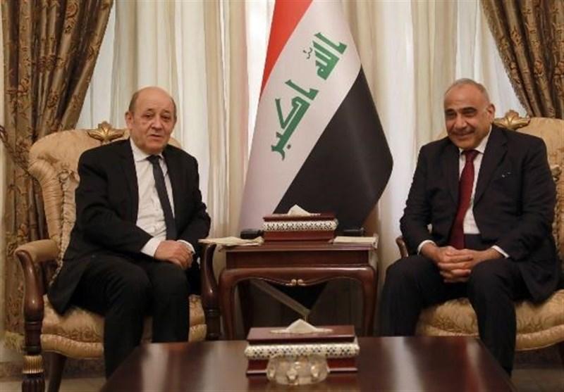 حضور وزیر خارجه فرانسه در نجف اشرف و ادعای جالب وی+ عکس