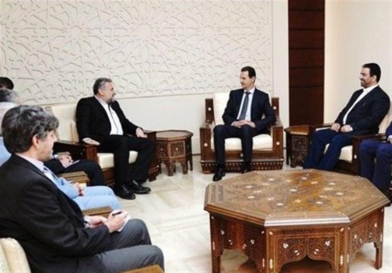 دیدار هیئت پارلمانی ایران با بشار اسد؛ عزم تهران و دمشق برای توسعه روابط راهبردی