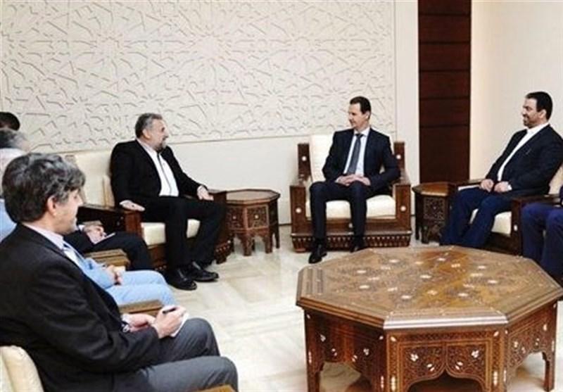 ایرانی پارلیمانی وفد کا دورہ دمشق، صدر بشارالاسد سے اہم ملاقات