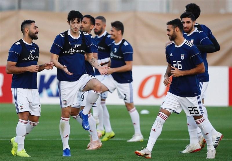 گزارش خبرنگار اعزامی تسنیم از امارات| پیشبینی تاج از نتیجه بازی فردای ایران و توطئه خبرنگار چینی + فیلم و تصاویر