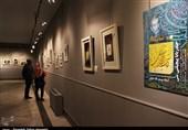 """نمایشگاه خوشنویسی """"حیدربابا پیچیلتیسی"""" به روایت تصویر"""