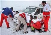 برف و کولاک ۱۹ استان کشور را درنوردید/امدادرسانی به ۶ هزار مسافر